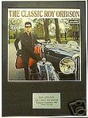 ROY ORBISON -THE CLASSIC  ROY  ORBISON-Framed LP Cover